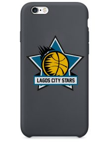 Lagos City Stars Black hard Phone Cases