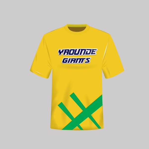 Yaounde Giants Team Tees Without logo